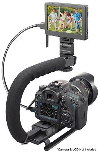 Pro Video Stabilizing Handle Scorpion grip For: Casio Exilim EX-H15 Vertical Sho…