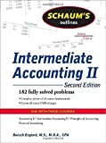 img - for Schaum's Outline of Intermediate Accounting II, 2ed (Schaum's Outline Series) by Englard, Baruch (2009) Paperback book / textbook / text book