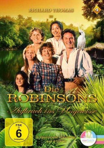 Die Robinsons - Aufbruch ins Ungewisse Vol. 04 [2 DVDs]