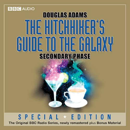 the hitchhiker 39 s guide to the galaxy the secondary phase dramatised audiobook douglas adams. Black Bedroom Furniture Sets. Home Design Ideas