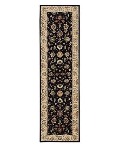 Nourison Traditional Rug, Navy, 2' 3 x 8' Runner