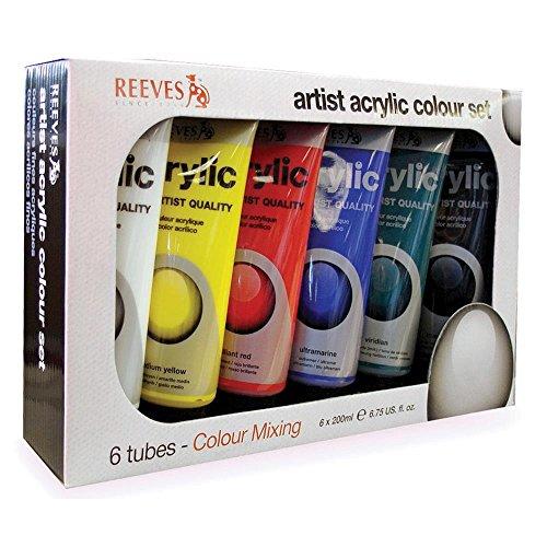 reeves-83402-colore-acrilico-acrylfarbe-set-set-6-x-200ml-tuben