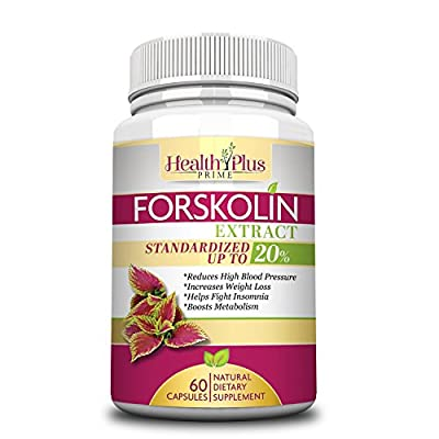 Forskolin Extract Natural Weight Loss and Appetite Supplement with 250mg (Standardized to 20% with 50mg of Active Forskolin) For Real Results That Work or Your Money Back Guarantee All Natural 100% Safe