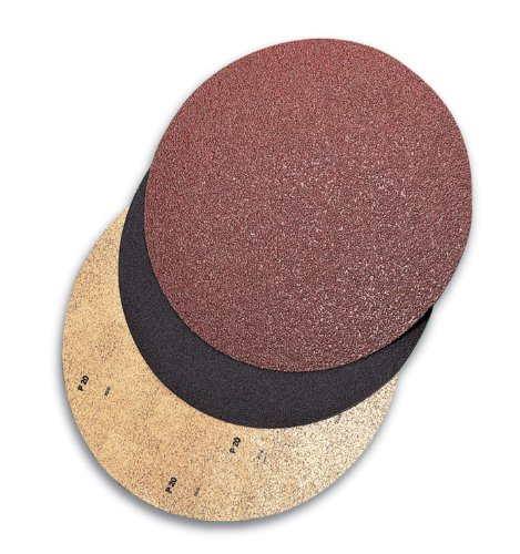 Mercer abrasives 44817036 20 silicon carbide fast grip for 17 floor sanding disc