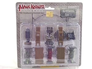 Mage Knight - Dungeons - Artifacts Set #1 Miniture Game Figures