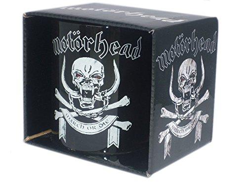 """Motörhead - Tazza da regalo Rock Band, """" March or die"""", confezionata"""