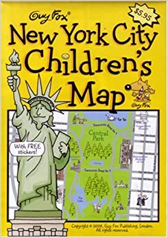 Guy Fox New York City Children39s Map By Harper Kourtney