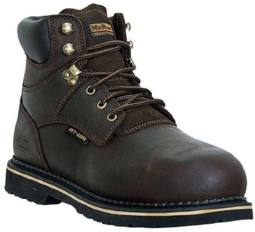Mcrae Men's EH Slip Resistant Safety Toe Work Boots