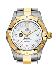 Harvard University TAG Heuer Watch - Women's Two-Tone Aquaracer Watch