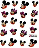 GGSELL Miao Yun Mickey Minnie nail decals water transfer decals nail hydroplaning nail stickers