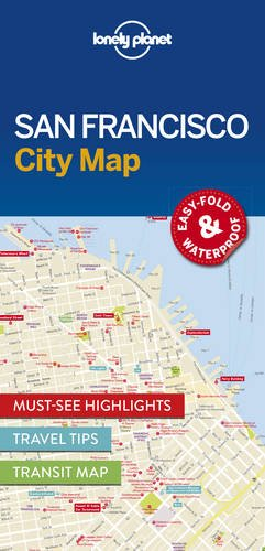 lonely-planet-san-francisco-city-map-travel-guide