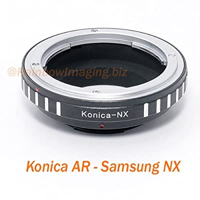 RainbowImaging Konica AR Lens to Samsung NX NX100 NX10 NX5 Camera Mount Adapter,