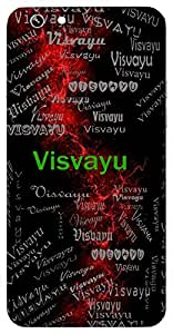 Visvayu (Brother Of Amavasuand Satayu) Name & Sign Printed All over customize & Personalized!! Protective back cover for your Smart Phone : Apple iPhone 7