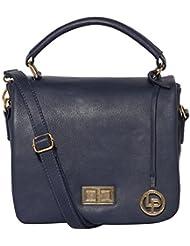 Lino Perros Women's Handbag (Blue) - B01IVGK5J0