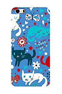 ZAPCASE PRINTED BACK COVER FOR IPHONE 5