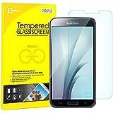 JETech® Samsung S5 Film Protection en Verre trempé écran protecteur ultra résistant Glass Screen Protector pour Samsung Galaxy S5