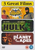 Batman / Death of the Incredible Hulk / Beneath the Planet of the Apes [DVD]