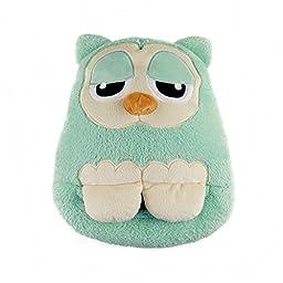 Multifunctional USB Foot Warmer USB Plush Slipper Pilow Owl Style (Owl Green)