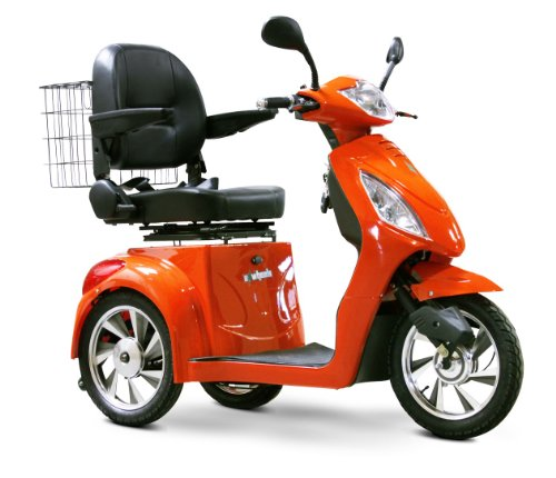 E-Wheels Ew-36 Recreational Power Mobility Fast Electric Scooter Orange Color