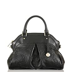 Louise Rose Satchel<br>Black Saint Germaine