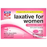 Rite Aid Women's Stimulant Laxative, 90 Tablets
