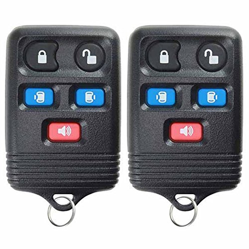 2 KeylessOption Replacement 5 Button Keyless Entry Remote Control Key Fob Power Sliding Door Compatible with CWTWB1U511