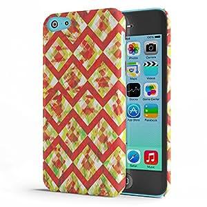 Koveru Back Cover Case for Apple iPhone 5C - Zig Zag