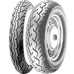 Pirelli MT66 Route Tire - Front - 80/90-21 , Position: Front, Tire Size: 80/90-21, Rim Size: 21, Load Rating: 48, Speed Rating: H, Tire Type: Street, Tire Application: Cruiser 0801100