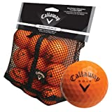 Callaway 18 Orange HX Soft Flight Practice Golf Balls - High Quality Indoor Practice Training