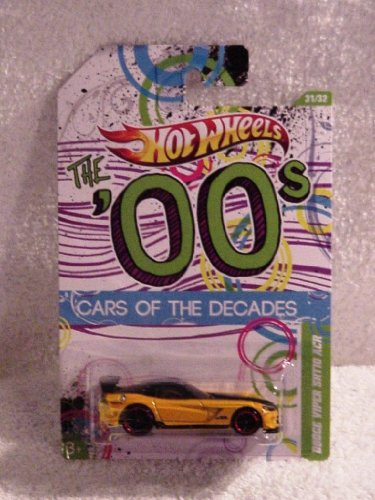 Hot Wheels The 00'S Cars Of The Decades Dodge Viper Srt10 Acr Yellow/Black #31/32
