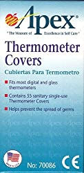 55 Disposable Thermometer Covers By Apex Healthcare Products