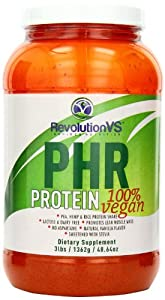 RevolutionVS PHR (Pea-Hemp-Rice) Vegan Protein Diet Supplement Powder, 3 Pound