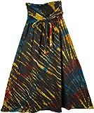 """TLB - All Weather Tie Dye Skirt - L:36""""; W:24""""- 34"""""""