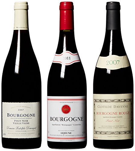 Red Burgundy Mixed Pack 3 X 750 Ml