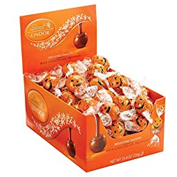Lindt LINDOR Halloween Milk Chocolate Truffles 2/60 Count Boxes \