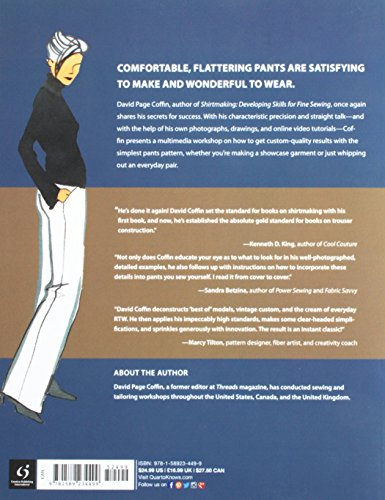 Making Trousers for Men and Women: A Multimedia Workshop in Men's and Women's Garments