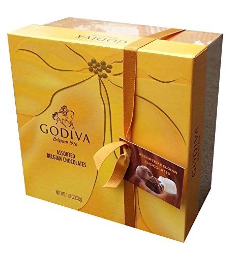 GODIVA Assorted Belgian Chocolates Gift Box (27