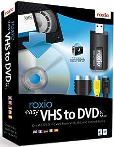 Roxio Easy VHS To DVD - Paquete Completo, Estándar, 1 Usuario
