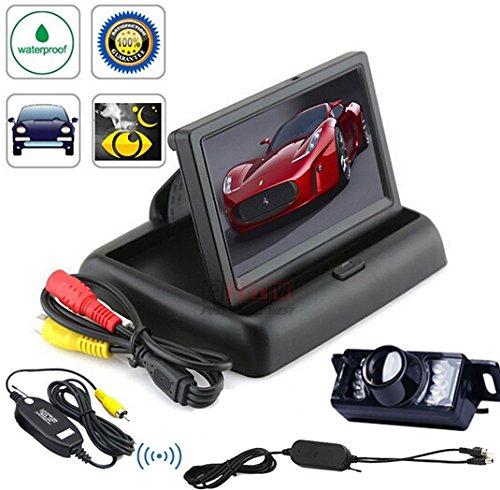 BW-hochwertige-1092-cm-TFT-LCD-Auto-Monitor-Rckspiegel-faltbarer-Armaturenbrett-Rckfahrkamera-Funk-wasserdicht