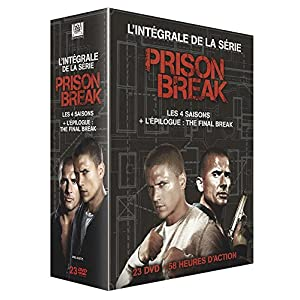 Prison Break - L'intégrale des 4 saisons + l'épilogue The Final Break [É