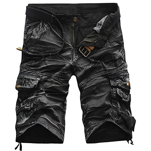 Men's Cotton Twill Cargo Shorts