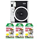Fujifilm FU64-INSM9K030 Fujifilm INSTAX MINI 90 NEO CLASSIC Camera and Film Kit, 30 Exposures
