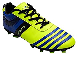 ZIGARO Green FIFA Football Shoes(11 Ind/Uk)