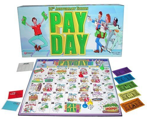 Pay Day Board Game (Editions may vary)