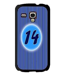 Printvisa 2D Printed Numerology Designer back case cover for Samsung S3 I8190 Mini - D4232