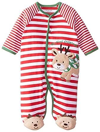 Amazon Little Me Baby Boys Newborn Reindeer Stripe
