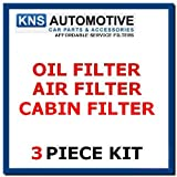 Renault Clio mk3 1.4,1.6 16v (05-13) Oil,Pollen & Air Filter Service Kit