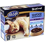 HiLife Tempt Me! Cat Food Seafood Assortment in Sauce '32 x 85g Pouches'