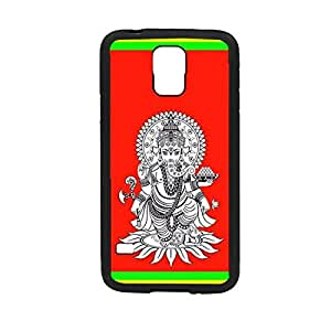 Vibhar printed case back cover for Samsung Galaxy S5 Ganesha