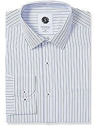 Symbol Men's Formal Stripe Regular Fit Shirt